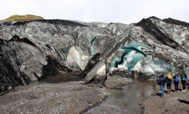 Sólheimajökull glacier, South Coast of Iceland