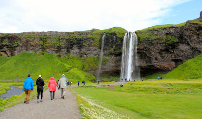 Seljalandsfoss waterfall, South Coast of Iceland