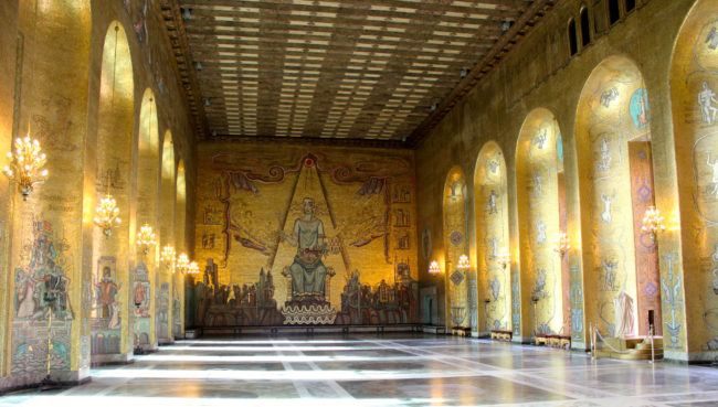 The Golden Hall, City Hall, Stockholm