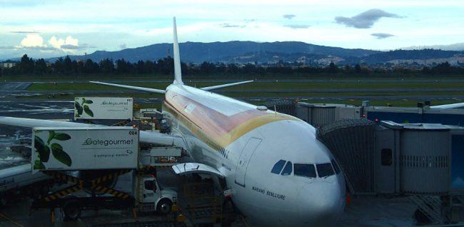 A stopover in Bogota