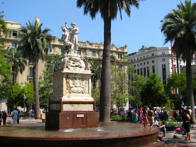 Downtown Santiago, Chile