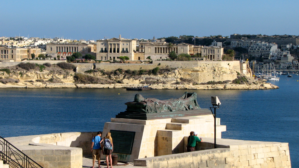 Valletta's waterfront (Malta in photos)