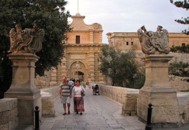 Mdina (Malta in photos)