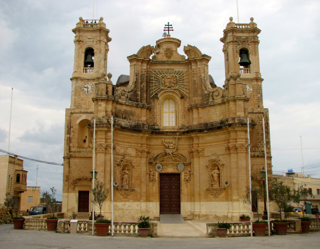 Church of the Visitation, Għarb, Gozo (Malta in photos)