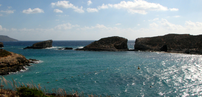 Blue Lagoon, Comino (Malta in photos)