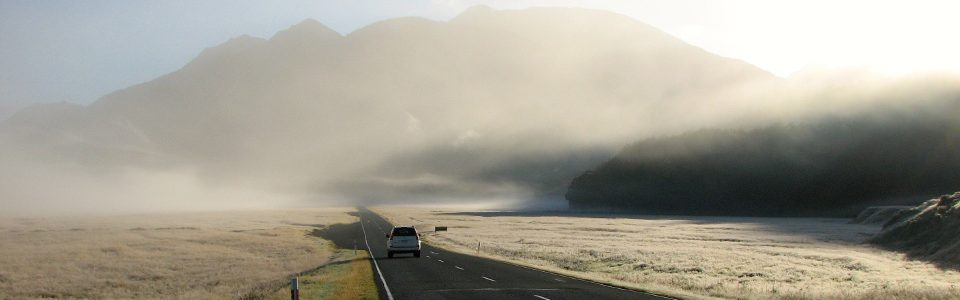Road to Milford Sound, New Zealand