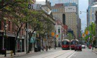 King Street at Jarvis, looking west (Toronto)
