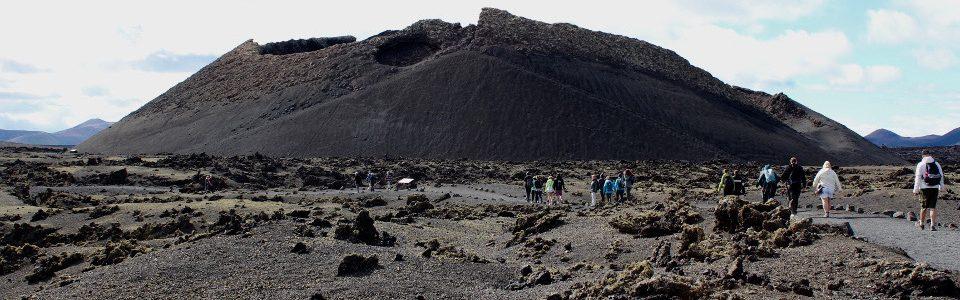 Volcan del Cuervo, Lanzarote