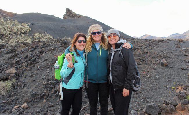 Our three guides: Sara, Alena, and Emma
