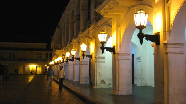 Street in Cartagena, Colombia (best safety tips)