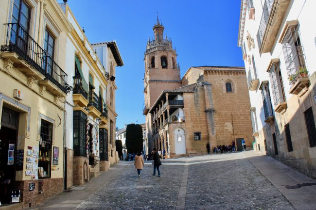 Old Town with the Iglesia de Santa Maria La Mayor in the background (Ronda in one day)