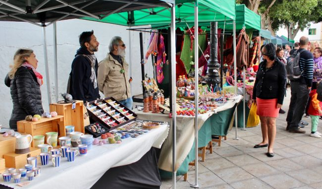 Saturday market in Haría (Lanzarote away from the resorts)