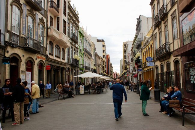 Calle Triana (travel guide to Las Palmas de Gran Canaria)