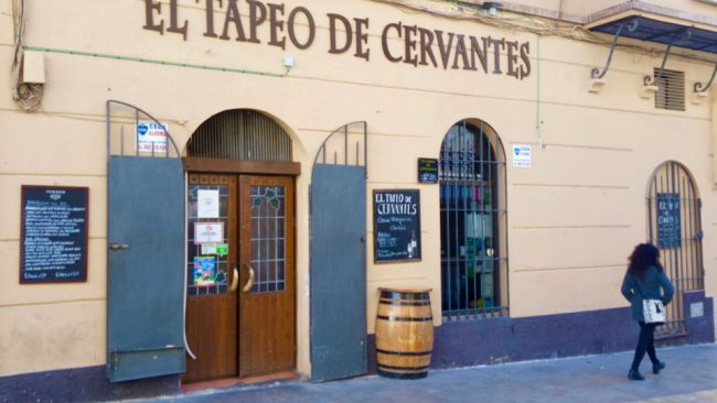 El Tapeo de Cervantes tapas bar, Málaga (Why Málaga is worth a visit)