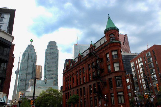 Flatiron building, Toronto (great Toronto photos)