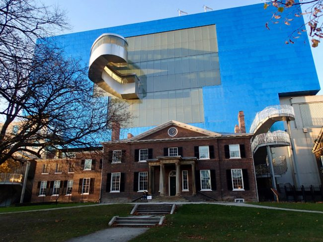 Art Gallery of Ontario, seen from the back (great Toronto photos)