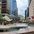 Green spaces, Place Ville-Marie, Montreal (to do in Montreal this summer)