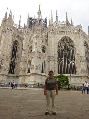 Dorita Rosewitz first solo trip (Milan)