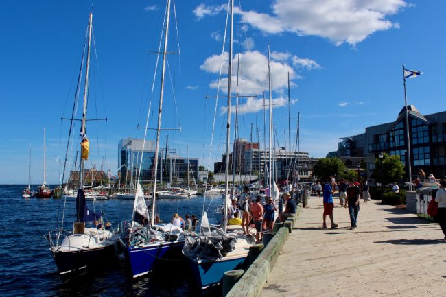 Waterfront Boardwalk, Halifax, Nova Scotia (mid-size Canadian cities)