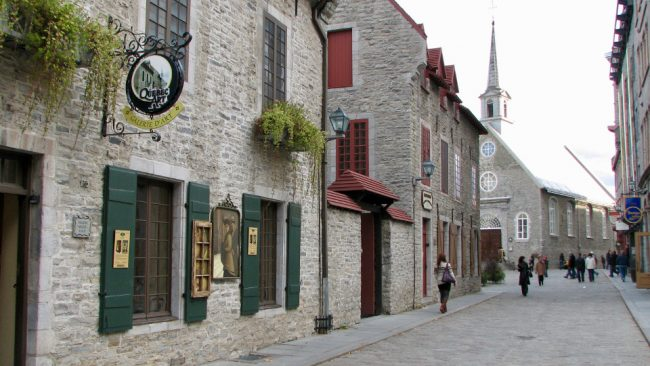 Old Town Quebec City (mid-size Canadian cities)