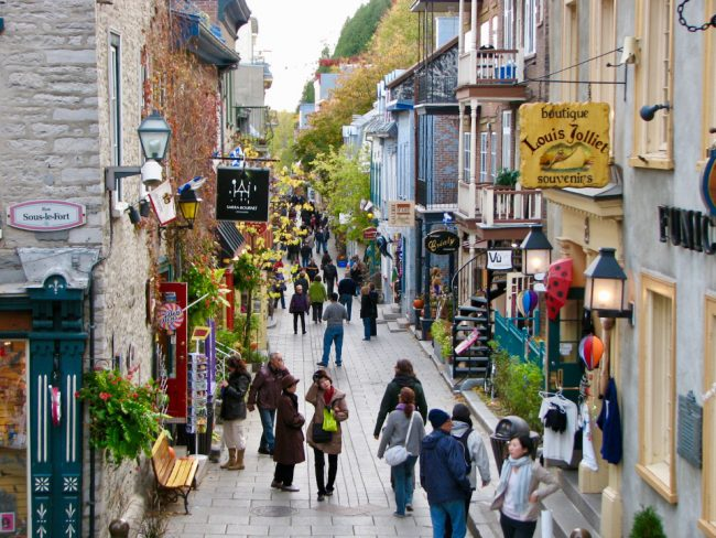 Petit Champlain, Quebec City (mid-size Canadian cities)