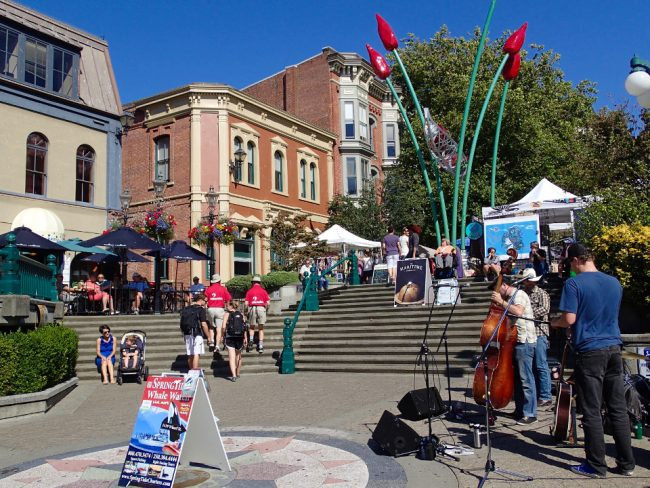 Downtown Victoria, British Columbia (mid-size Canadian cities)