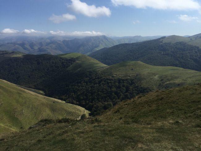 In the Pyrénées, between France and Spain (Camino de Santiago solo)