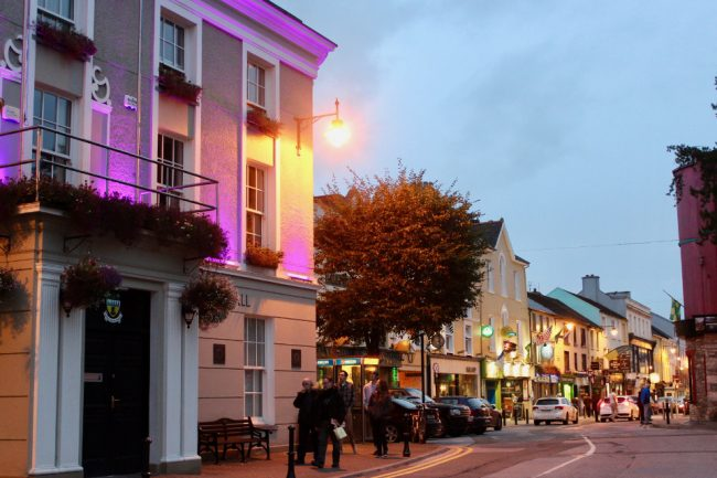 Killarney at dusk (things to do in Killarney)