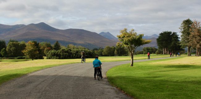 Cycling in Killarney National Park (things to do in Killarney)