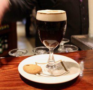 Irish coffee at Hannigans, Killarney (things to do in Killarney)