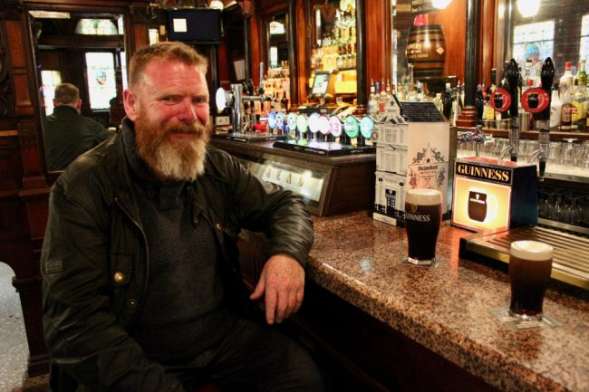 Irishman in a bar (impressions of Ireland)