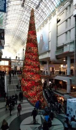 Holiday shopping (travel more)