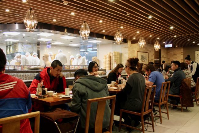 Ding Tai Fung in Taipei 101 (2 days in Taipei itinerary)