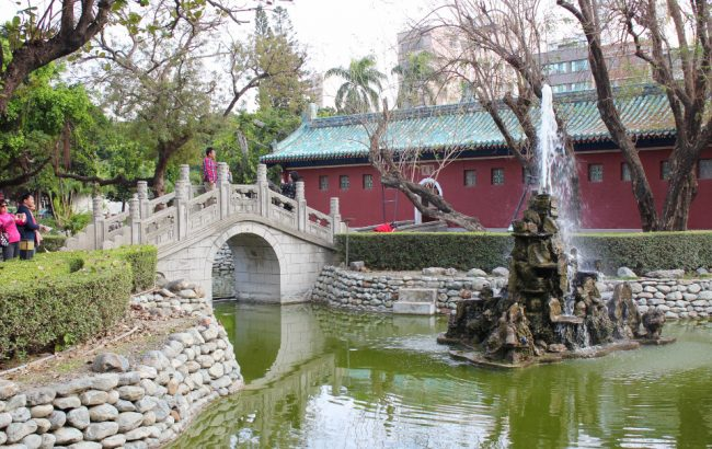 Garden in Tainan, Taiwan (things I love about Taiwan)