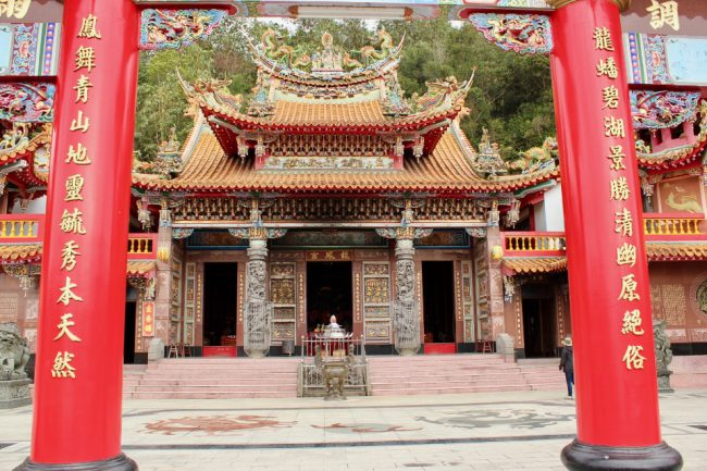 Longshan Temple, Shueishe, Taiwan (things I love about Taiwan)