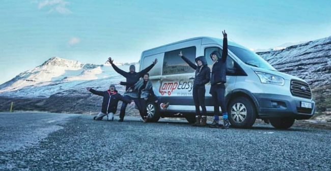 GAFFL users doing a road trip in Iceland (find travel buddies)