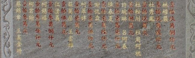 Chinese characters (living in Taiwan)