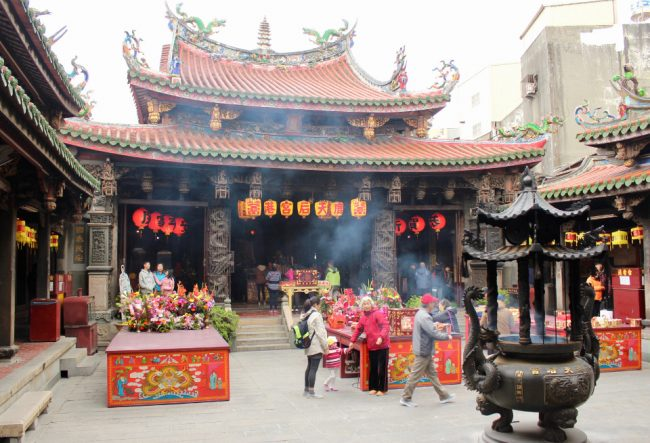 Mazu Taoist temple in Lukang (living in Taiwan)