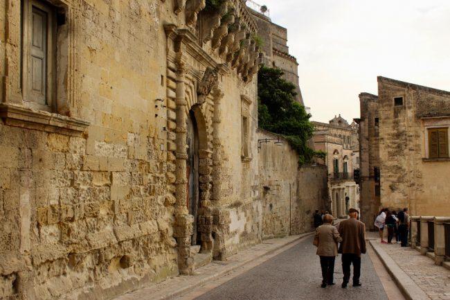 Renaissance part of Matera (Matera in photos)