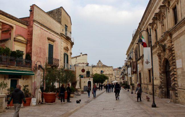 """""""New Town"""" Matera (Matera in photos)"""