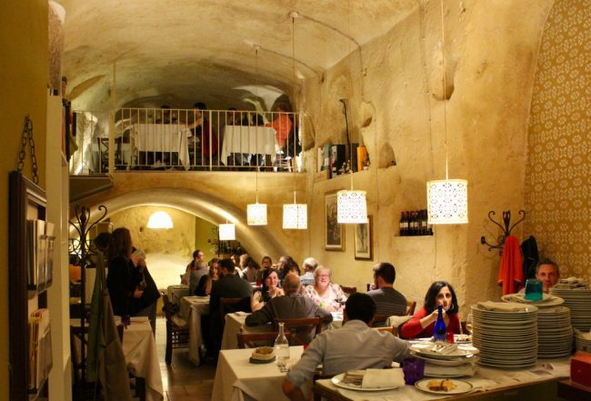 Soul Kitchen, cave-restaurant in Matera (Matera in photos)