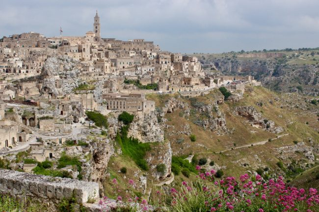 Iconic view of Matera, from the cliff promenade (Matera in photos)