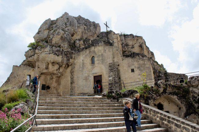 Madonna de Idris cave church, Matera (Matera in photos)