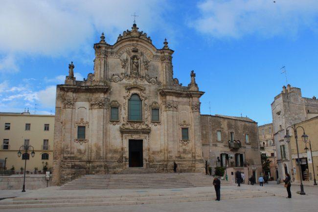 San Francesco d'Assisi church, Matera (Matera in photos)