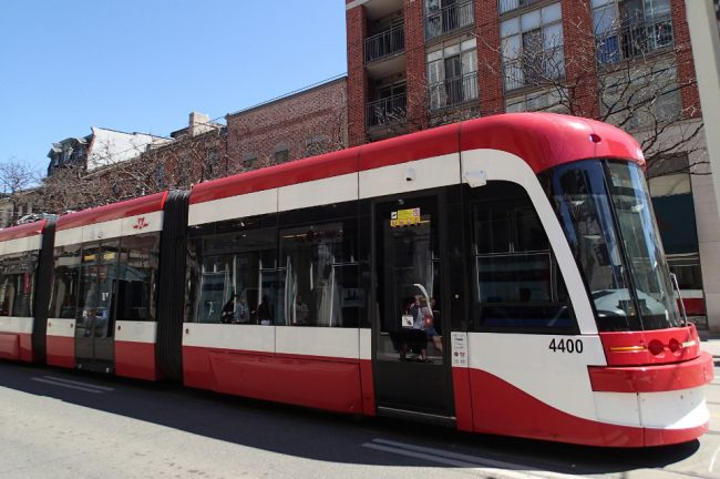 New streetcar, Toronto