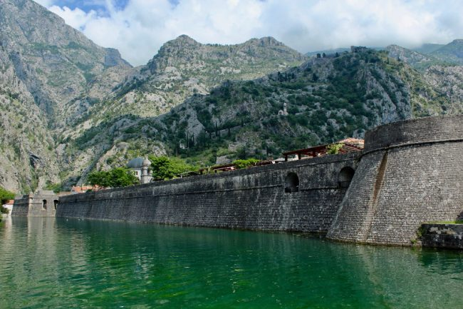 Town walls, Kotor (guide to Kotor)