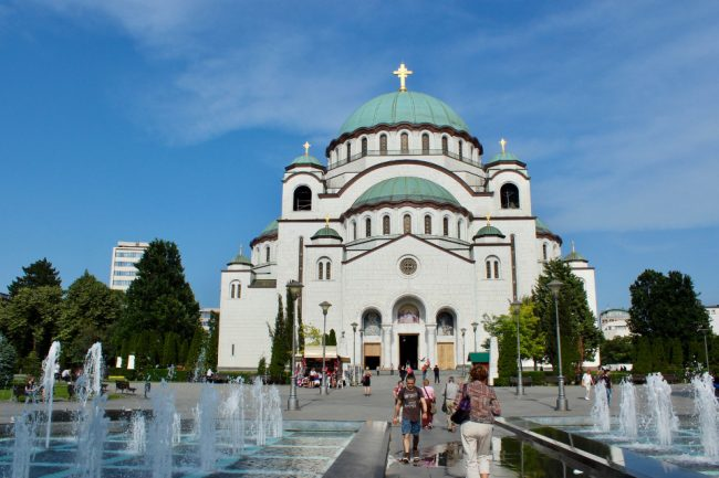 Saint Sava Church, Belgrade (one day in Belgrade)