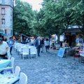 Skadarska Street, Belgrade, in the evening (one day in Belgrade)