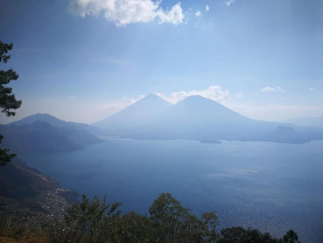 Lake Atitlan: viewpoint on Godinez to Panajachel road