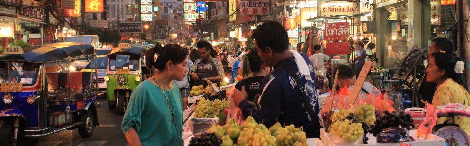 A night market in Bangkok